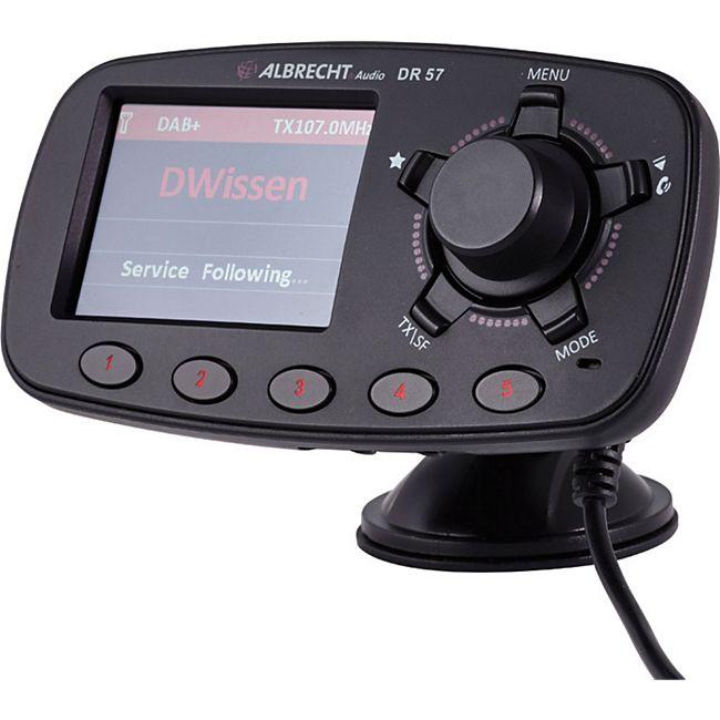 Albrecht DR 57 Autoradio-Adapter - Bild 1
