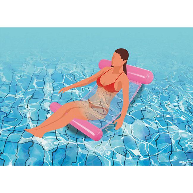 MAXXMEE Wasserhängematte mit Tragefunktion 119cm versch. Farben - Bild 1