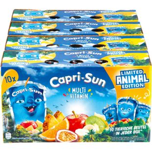 Capri Sun Multivitamin 10 x 0,2 Liter, 4er Pack - Bild 1