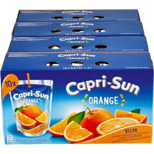 Capri Sun Orange 10 x 0,2 Liter, 4er Pack - Bild 1