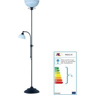 Reality Trio Ardennes Deckenfluter Stehlampe, Landhausstil - Bild 1