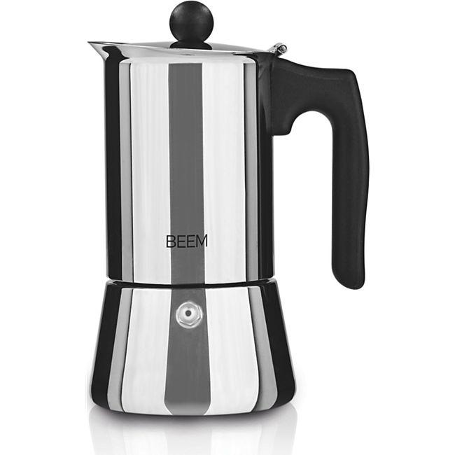 BEEM Espresso-Kocher 220ml Edelstahl/schwarz - Bild 1