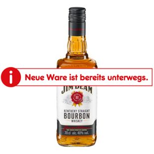 Jim Beam 40,0 % vol 0,7 Liter - Bild 1