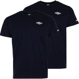 Umbro Herren T-Shirt, 2er Pack - schwarz, Gr. M - Bild 1