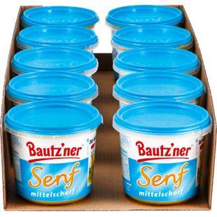Bautzner Senf mittelscharf 200 ml, 10er Pack - Bild 1