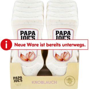 Papa Joes Knoblauch Sauce 300 ml, 8er Pack - Bild 1