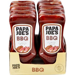 Papa Joes Barbecue Sauce 300 ml, 8er Pack - Bild 1