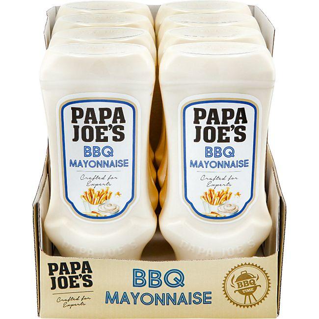 Papa Joes Mayonnaise 500 ml, 8er Pack - Bild 1