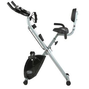 L.A. Sports Body Coach Bike´n Expander 2in1 Fitness Mini-Bike mit Rückenlehne und X-Rahmen - Bild 1
