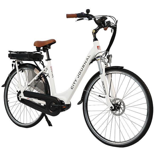 """AsVIVA E-Bike 28"""" Hollandrad B14 - 36V Elektrofahrrad Pedelec Mittelmotor weiß - Bild 1"""