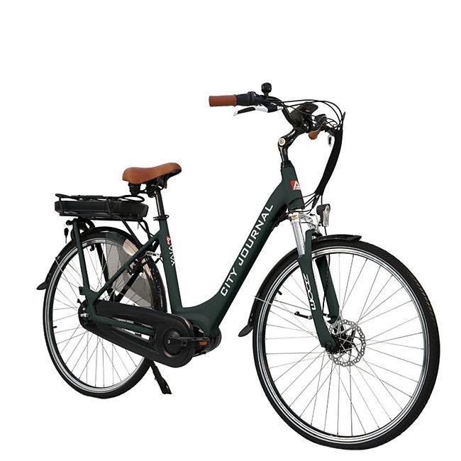 "AsVIVA E-Bike 28"" Hollandrad B14 - 36V Elektrofahrrad Pedelec Mittelmotor grau - Bild 1"