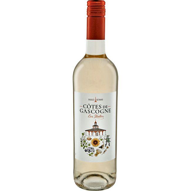 Les Hallesd Côtes de Gascogne IGP 11,0 % vol 0,75 Liter - Bild 1