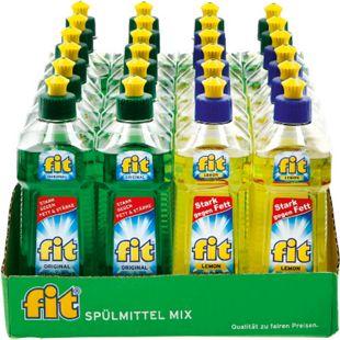 Fit Spülmittel verschiedene Sorten 500 ml, 24er Pack - Bild 1