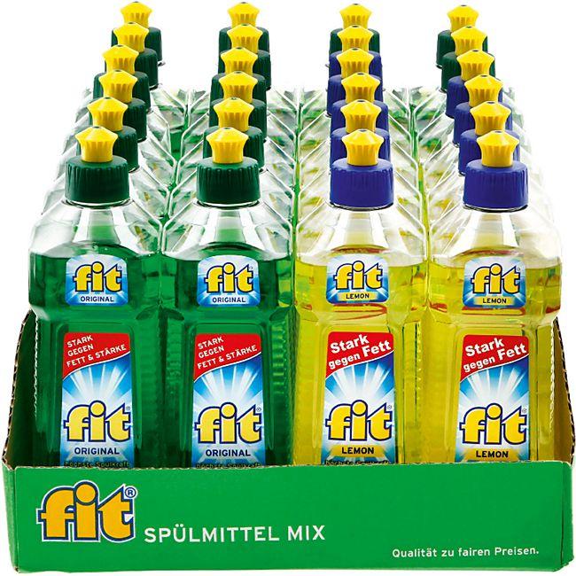 Fit Spülmittel 500 ml, verschiedene Sorten, 24er Pack - Bild 1