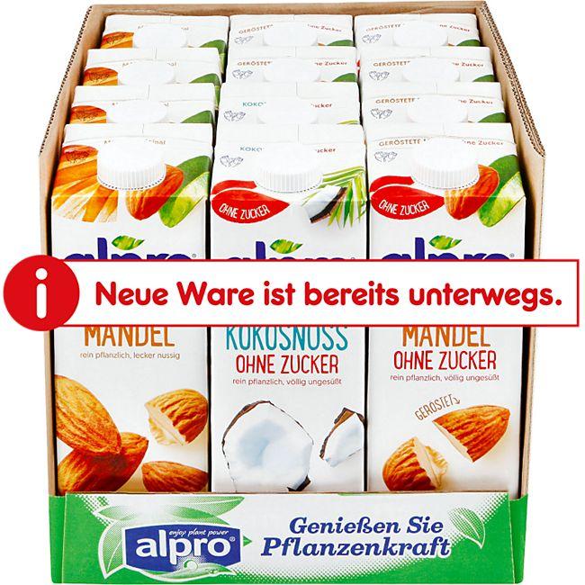 Alpro Drink 1 Liter, verschiedene Sorten, 12er Pack - Bild 1