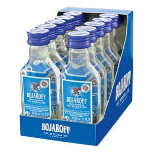 Bojaroff Wodka 37,5 % Vol. 100 ml, 12er Pack - Bild 1