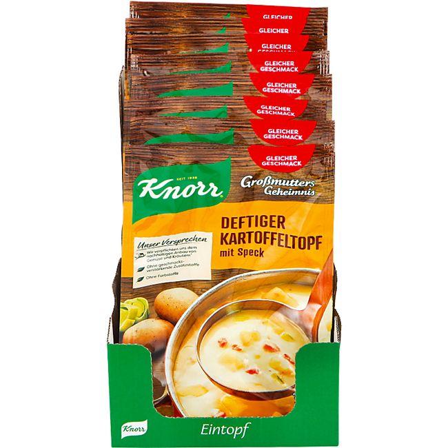 Knorr Großmutters Geheimnis Deftiger Kartoffeltopf ergibt 0,6 Liter, 9er Pack - Bild 1