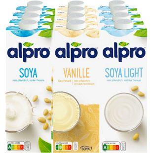 Alpro Sojadrink 1 Liter, verschiedene Sorten, 12er Pack - Bild 1