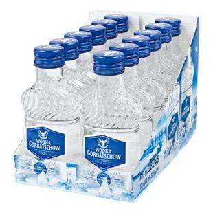 Gorbatschow Wodka 37,5% Vol. 100 ml, 12er Pack - Bild 1