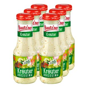 Bautzner Salatdressing Kräuter 200 ml, 6er Pack - Bild 1