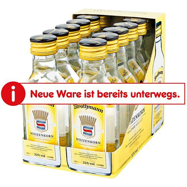 Strothmann Weizenkorn 32,0 % Vol. 100 ml, 12er Pack - Bild 1