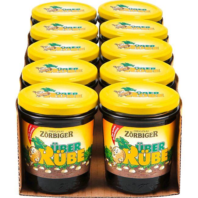 Zörbiger Überrübe Zuckerrübensirup 350 g, 10er Pack - Bild 1