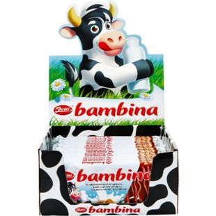 Zetti Bambina Schokolade 100 g, 24er Pack - Bild 1