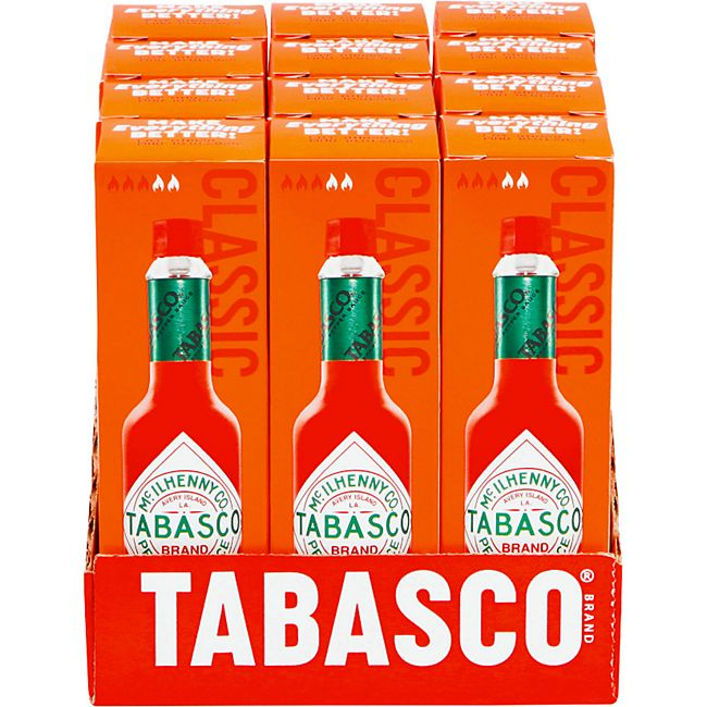Tabasco Sauce rote Pfeffersauce 60 ml, 12er Pack - Bild 1