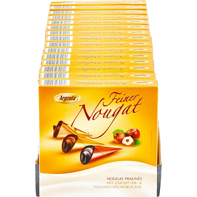 Argenta Nougatspitztüten 100 g, 15er Pack - Bild 1