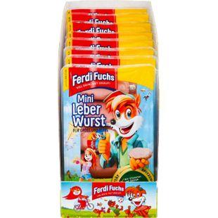 Ferdi Fuchs Sahneleberwurst fein 5 x 26 g, 8er Pack - Bild 1