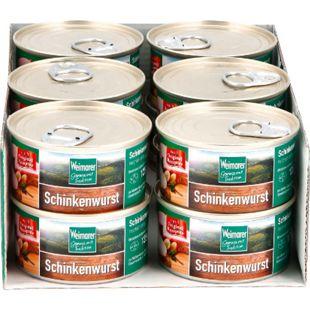 Weimarer Thüringer Schinkenwurst 125 g, 12er Pack - Bild 1