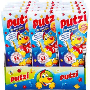Putzi Kinder-Zahncreme Calcium 50 ml, 12er Pack - Bild 1
