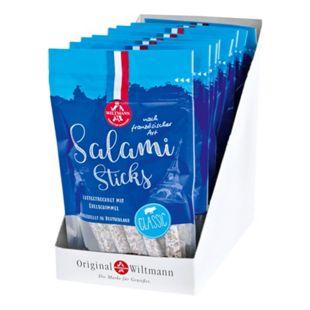 Wiltmann Salami Sticks classic 100 g, 8er Pack - Bild 1