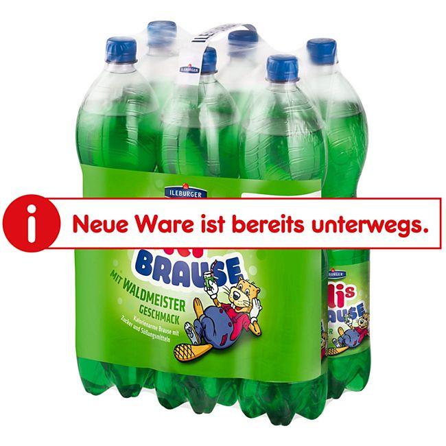 Waldmeisterbrause Ileburger 1,5 Liter, 6er Pack - Bild 1