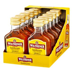 Wilthener Goldkrone 28,0 % vol 100 ml, 12er Pack - Bild 1