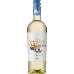 Gottschalk Easy White Chardonnay 12,5 % vol 0,75 Liter - Bild 1