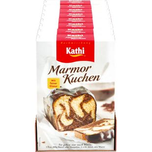 Kathi Backmischung Marmorkuchen 450 g, 8er Pack - Bild 1