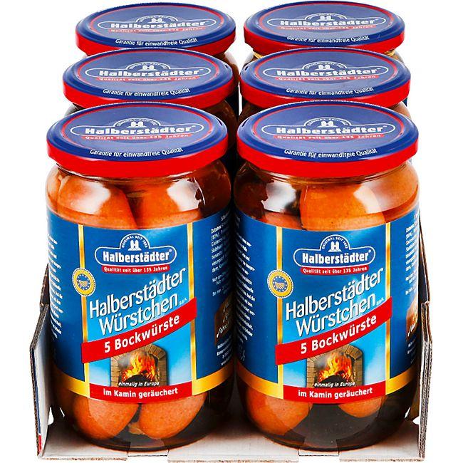 Halberstädter Bockwurst 400 g, 6er Pack - Bild 1