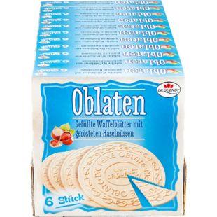 Dr. Quendt Oblaten Haselnuss 150 g, 11er Pack - Bild 1