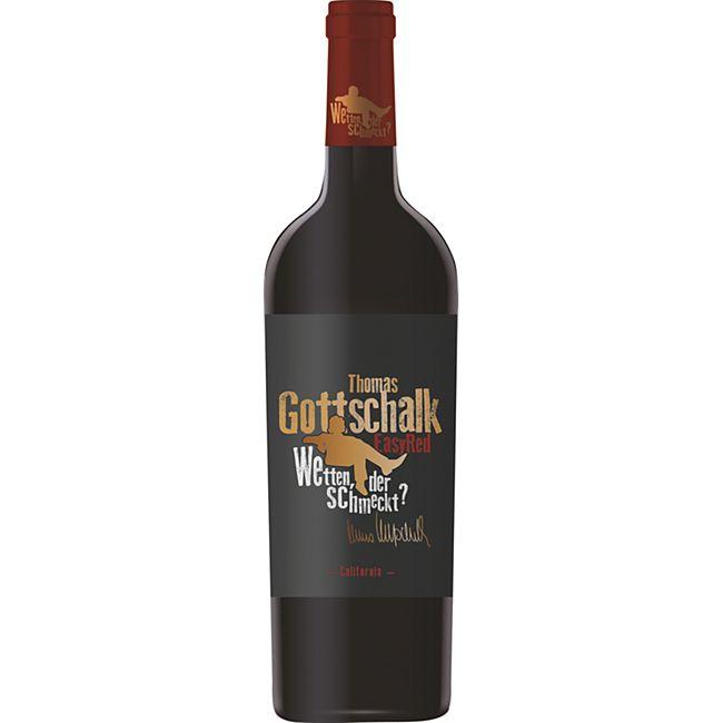 Thomas Gottschalk Rotwein Easy Red Ruby Cabernet 13,0 % vol 0,75 Liter - Bild 1