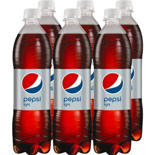 Pepsi Light 0,5 Liter, 6er Pack - Bild 1