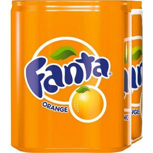 Fanta 0,33 Liter Dose, 4er Pack - Bild 1