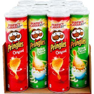 Pringles Chips 200 g, verschiedene Sorten, 18er Pack - Bild 1