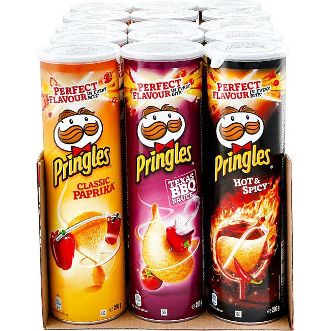 Pringles Chips 200 g, verschiedene Sorten, 15er Pack - Bild 1