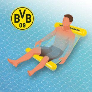 Borussia Dortmund Wasserhängematte mit Tragefunktion 119cm gelb - Bild 1