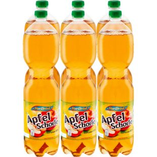 Stardrink Apfelschorle 1,5 Liter, 6er Pack - Bild 1