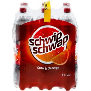 Schwip Schwap Cola & Orange 1,5 Liter, 6er Pack - Bild 1