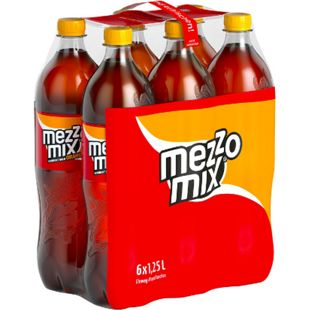 Mezzo Mix 1,25 Liter, 6er Pack - Bild 1