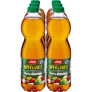 Fruchtstern Apfelsaft 1,5 Liter, 6er Pack - Bild 1
