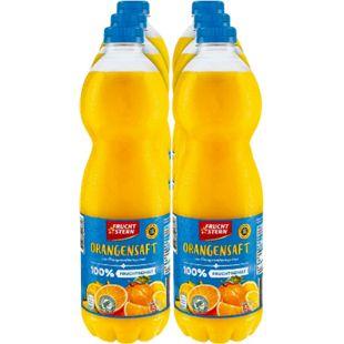 Fruchtstern Orangensaft 1,5 Liter, 6er Pack - Bild 1